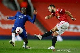 Manchester United dan Chelsea bermain imbang