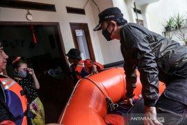 Banjir rendam Perumahan Griya Cimanggu Indah Bogor