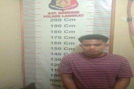 Polsek Hinai tangkap pemilik sabu yang sempat menabrak petugas