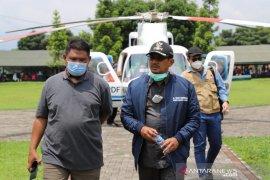 BNPB periksa kondisi hutan rusak penyebab banjir bandang di Garut