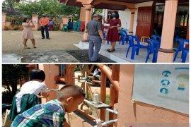 Penerapan prokes di GKPI Pandan, wajibkan 3M, tanpa koor dan bersalaman
