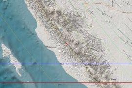 Kabupaten Merangin Kembali di guncang gempa