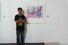 Mahasiswa Undiksha Bali ikutkan karya dalam pameran seni rupa internasional