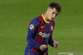 Coutinho diperkirakan absen melawan Juventus karena cedera