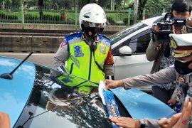 Sebanyak  613 pelanggar lalin terjaring Operasi Zebra di Jakarta Barat