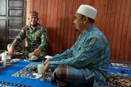 Warga senang dan bahagia atas adanya TNI Manunggal Masuk Desa
