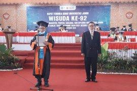 Rektor minta lulusan Unja bergerak bersama paltform Unja Smart