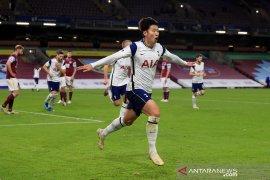 Sundulan Son Heung-min membawa Hotspur raih kemenangan 1-0 atas Burnley