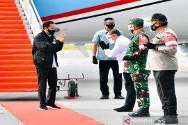 """Jokowi: """"Food estate"""" di Humbahas hasilkan kentang, bawang merah-putih"""