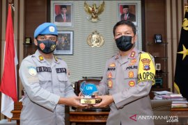 Six South Kalimantan police complete peace mission in Africa