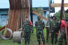 Pos terpadu TMMD wadah memperkokoh persatuan desa