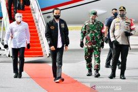 Presiden: Lumbung pangan Sumatera Utara jadi contoh  provinsi lain