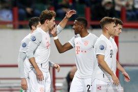 Bayern susah payah bawa pulang kemenangan dari markas Lokomotiv