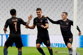 Manchester City cukur Marseille tiga gol tanpa balas