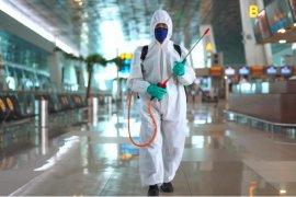 Bandara Jambi menerapkan biosecurity management hadapi liburan