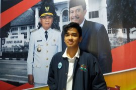 Siswa SMUN I Kisaran, Sobarisar wakili Sumut dalam program Parlemen Remaja DPR RI 2020