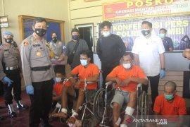 Polresta Jambi tangkap empat pelaku perampok toko emas