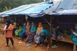 Korban bencana alam di Lebak berharap dibangun rumah hunian tetap