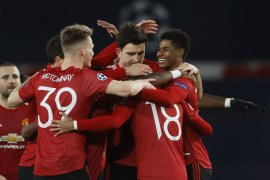 MU menang besar atas Leipzig