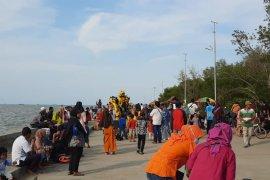 Sejumlah objek wisata di Provinsi Banten dipadati pengunjung