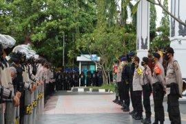 Ratusan polisi dikerahkan amankan aksi mahasiswa di Hari Sumpah Pemuda