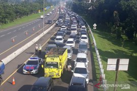 Jalur Puncak Bogor ditutup jika volume kendaraan meningkat melebihi 50 persen