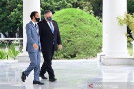 Presiden Joko Widodo terima Menlu AS Pompeo di Istana Kepresidenan Bogor