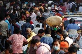 India catat infeksi corona capai 8,41 juta