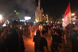Mahasiswa kecam tindakan represif kepolisian saat pengamanan demo di Pontianak