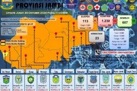 Delapan pasien COVID-19 asal Tanjungjabung Barat dan enam dari Kota Jambi dinyatakan sembuh