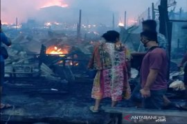 Kebakaran hebat 'lumat' permukiman padat Kotabaru
