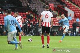 Manchester City atasi Sheffield United 1-0