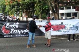 Komunitas motor Banjarbaru-Banjarmasin gelar donor darah