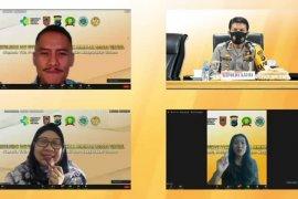 Webinar edukasi bahaya narkoba gelaran Polda Kalsel