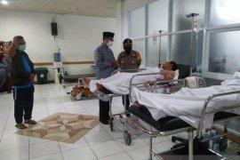 Empat anggota ormas korban bentrokan dilarikan ke RSUD Sukabumi