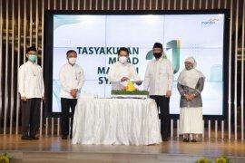 Ini program berbagi dan peduli Mandiri syariah diumur 21 tahun