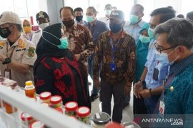 Pjs Bupati Kutim Jauhar Efendi tinjau UMKM Center Kaubun