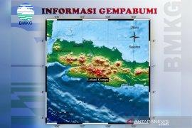 BMKG: Belum ada potensi gempa susulan di Kabupaten Bandung