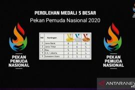 Jawa Barat juara umum Pekan Pemuda Nasional 2020