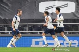 Gareth Bale bawa Tottenham bekuk Brighton 2-1
