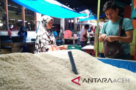 Produksi beras Aceh diperkirakan capai satu juta ton