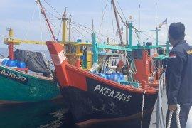 KKP tangkap dua kapal ikan asing  yang berupaya kabur