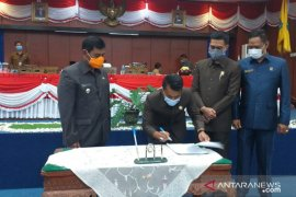 DPRD Belitung setujui tiga Raperda menjadi Perda