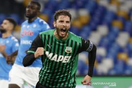 Liga Italia: Napoli tumbang di tangan Sassuolo