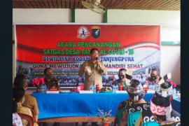 TNI membentuk Satgas Desa tangkal COVID-19 di Kapuas Hulu