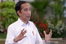 Presiden Jokowi ajak apoteker, dokter, perawat sukseskan vaksinasi COVID-19