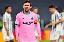 Liga Spanyol - Krisis keuangan Barcelona potong gaji pemain, termasuk Messi