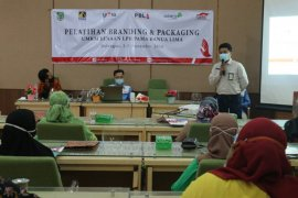 LPB Pama Banua Lima gelar pelatihan Branding & Packaging