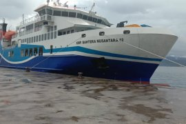 Feri KMP Bahtera Nusantara 02 resmi beroperasi