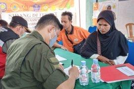 Satgas Penanganan COVID -19 jaring puluhan warga Ternate tidak gunakan masker
